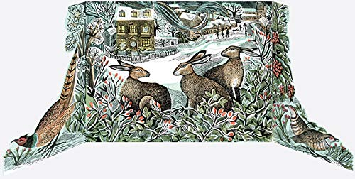 ANGELA HARDING WE THREE HARES ADVENT CALENDAR BY FOR ART ANGELS