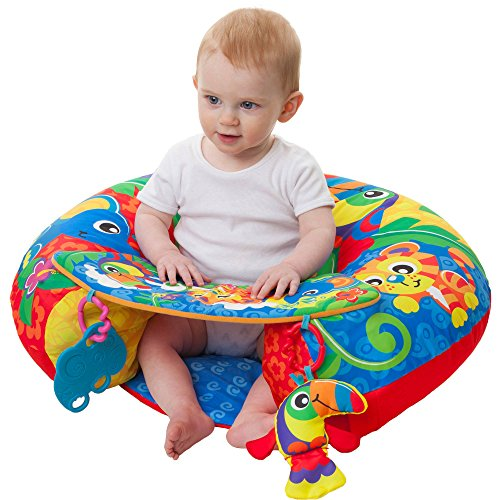 [Playgro Sit Up and Play Baby Activity Nest Center with Toys] (Dragon Nest Pirate Costume)