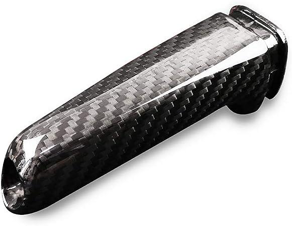 Carbon Fiber Car Handbrake Cover Grip Handle Lever for BMW