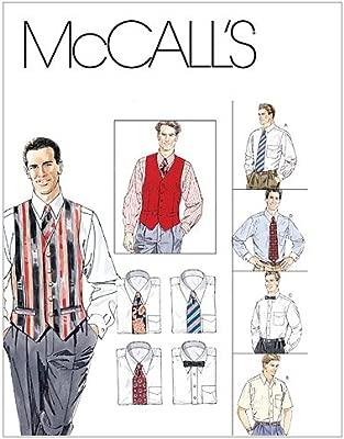 McCalls M2447 - Patrones de Costura para Camisas, Chalecos y ...