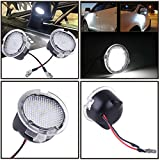 2pcs set High Power White LED Side Mirror Puddle Lights For Toyota Tundra 2007-2017