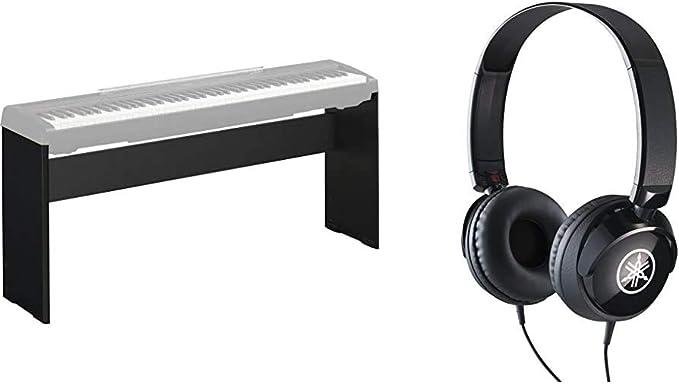 Yamaha L 85a Digital Piano Ständer Schwarz Stabiler Ständer In Modernem Design Hph 50b Kopfhörer Schwarz Schlichter On Ear Kopfhörer Mit Hochwertigem Sound Musikinstrumente