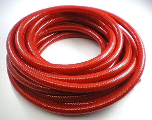 Aquafax 12.5mm Flexible Red Hot Water Hose