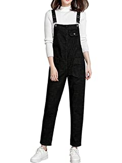 1024ff74361 Gooket Women s Regular Fit Denim Dungarees Casual Long Denim Bib Overalls  Jumpsuit Playsuit Jeans Pant Trousers