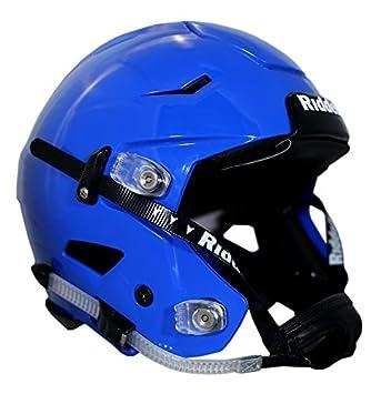b5150da7 Riddell SpeedFlex Adult Large Royal Blue Riddell Football Helmet w/ Blackout  Package