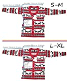 v28 Womens Oversized Christmas Reindeer Cardigan