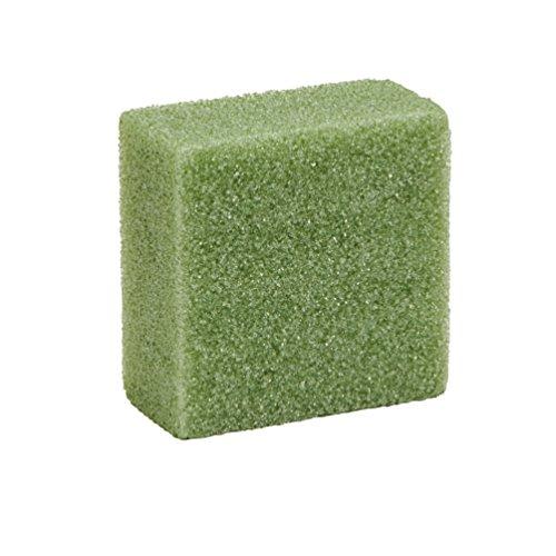 Arranger Block Styrofoam (Floracraft Styrofoam Block Arranger, 3.875-Inch by 3.875-Inch by 1.938-Inch, Green)