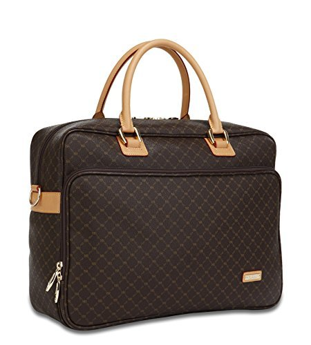Rioni Signature (Brown) - Travel Laptop Carrier by Rioni