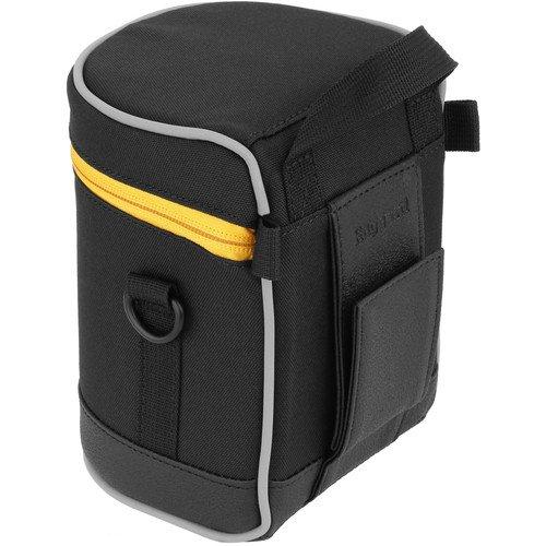 Ruggard Lens Case 5.0 x 3.5'' (Black)(3 Pack)