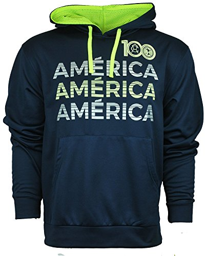 fan products of Soccer Athletic Unisex Hoodie Sweatshirt Club America Small