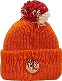 Vintage Tampa Bay Buccaneers Knit Hat Cuffed Pom Orange Patch Logo