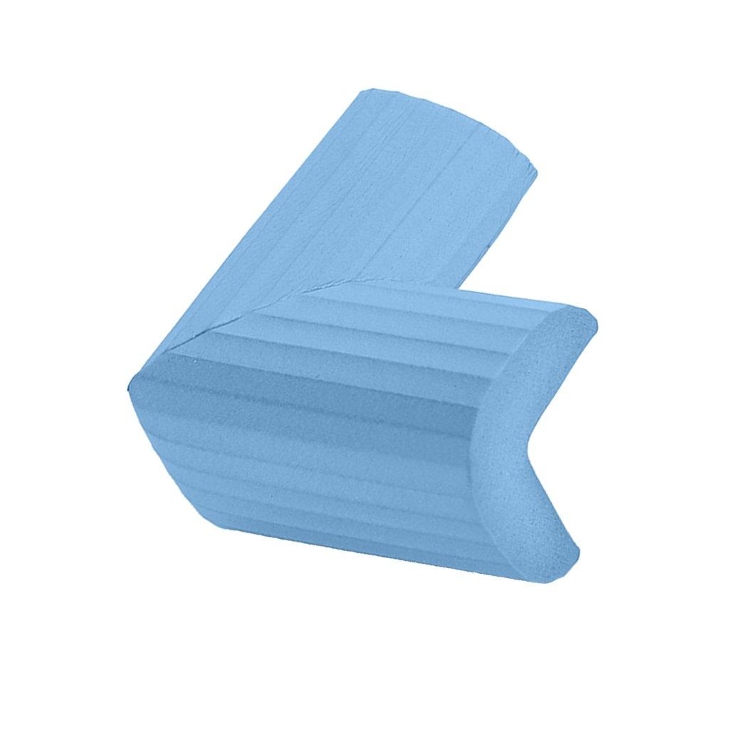Baoblaze Eckenschutz Kantenschutz Eckschutz Tischkantenschutz für Kinder Baby, aus Gummi - Beige