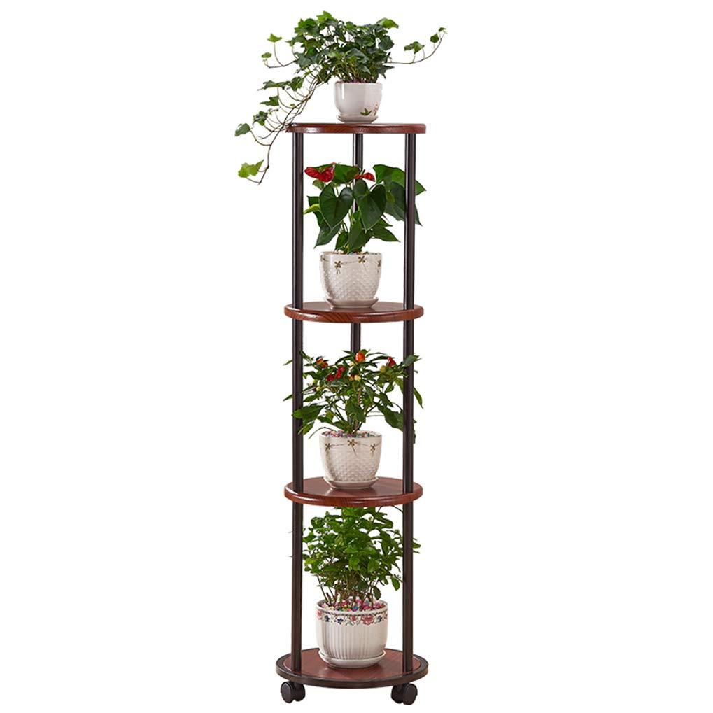 ZRHJ Estante de exhibición de Flores con Soporte de Plantas de 4 ...
