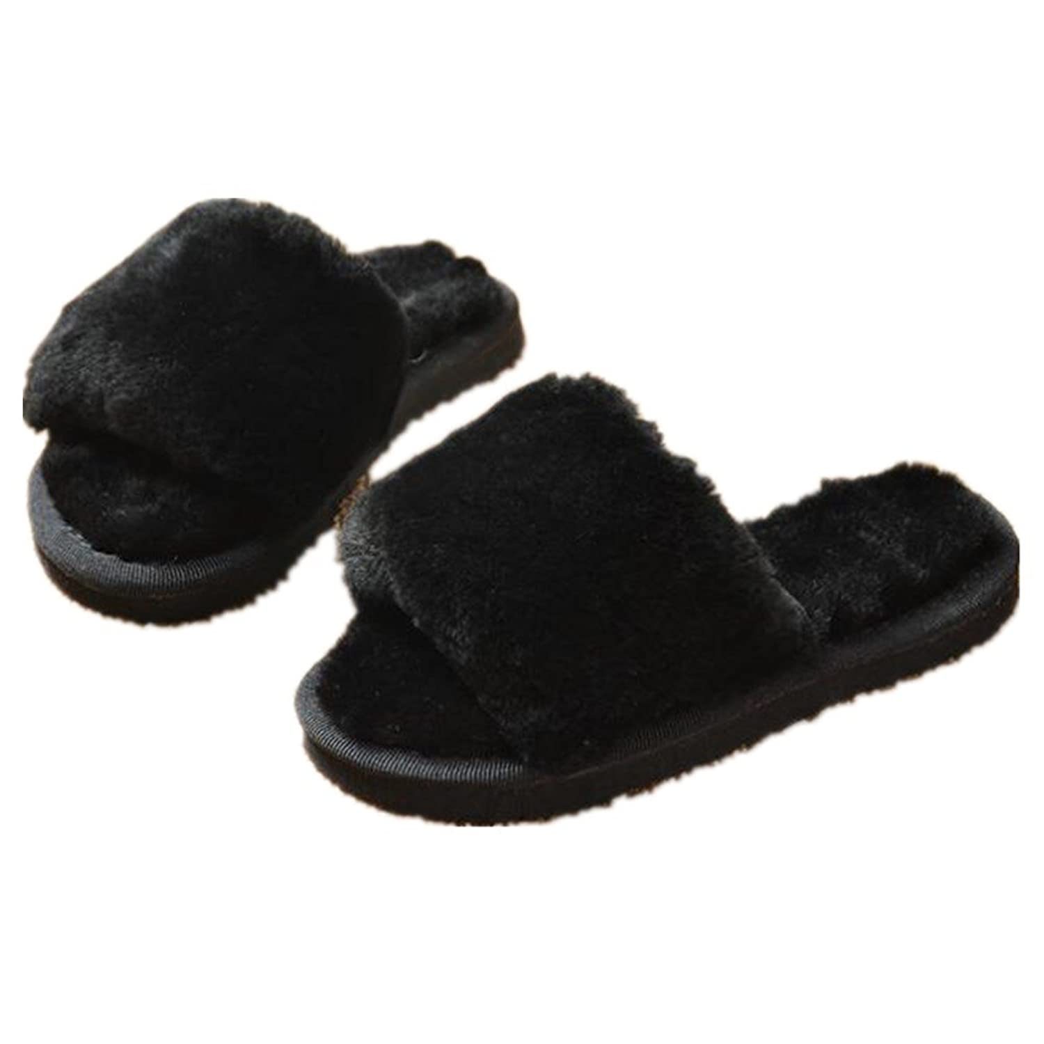 Aksautoparts Anti-slip Indoor Outdoor Slippers Winter Thick Home Warmth Thickened Cotton Slippers