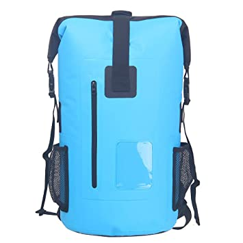 92462d522d69 Roll Top Lightweight 35L Waterproof Rucksack Backpack Dry Bags Pack Sack  for Bike Fishing Cycling Sport
