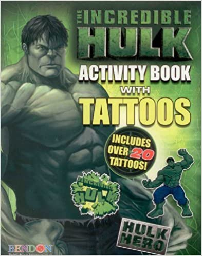 Hulk Tattoo Book by Marvel Comics (2008-03-04)