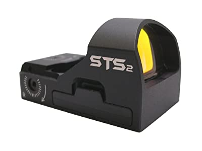 C-MORE Systems STS2 Super Bright 3 MOA Red Dot Sight, Black