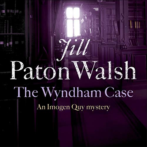 The Wyndham Case: Imogen Quy, Book 1