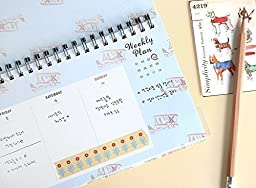 Weekly Planners Pad - Weekly and Daily Planning Keyboard Paper Pad 13\