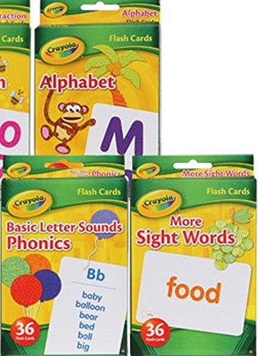 ABC Flash Cards Crayola Set