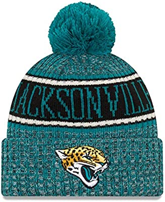 b647099f2 Amazon.com  New Era Jacksonville Jaguars Reverse Color 2018 Sport Knit NFL  Beanie