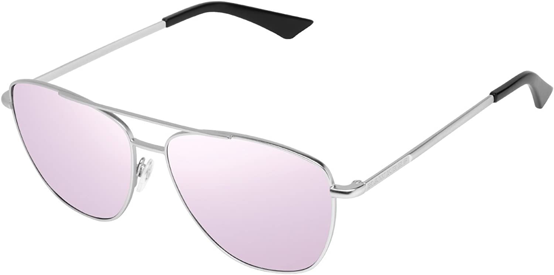Hawkers Lax Montures de lunettes Mixte Argent (Metálico / Morado)