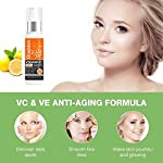 Gladden 20% Vitamin C + E Serum for Face with Hyaluronic Acid For Anti Ageing, Anti Acne & Skin Brightening (30ml)