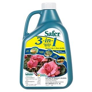 Safer Brand 5462 5462-6 3 in1 Garden Spray Concentrate, 32 oz 1 Pack