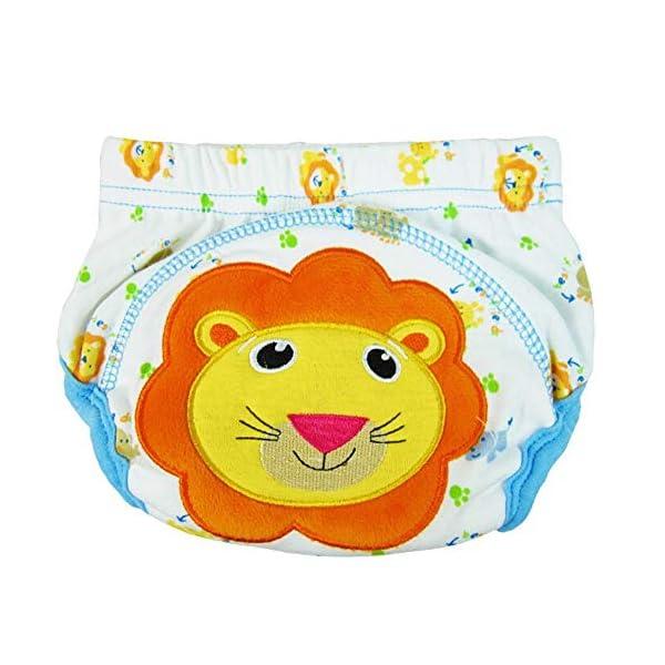 CuteOn 7 pacchetto di Formazione del Bambino del Bambino dei Ragazzi delle Ragazze di Cotone Potty Pantaloni… 2