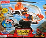 Fisher Price Rescue Heroes Chopper Helicopter