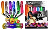 temporary hair dye for kids - Kids Hair Chalk Scented Metallic Non Toxic Washable Hair Color Safe For Kids And Teens. For Party, Girls Gift, Kids Toy, Birthday Gift For Girls, 6 Bright Colors