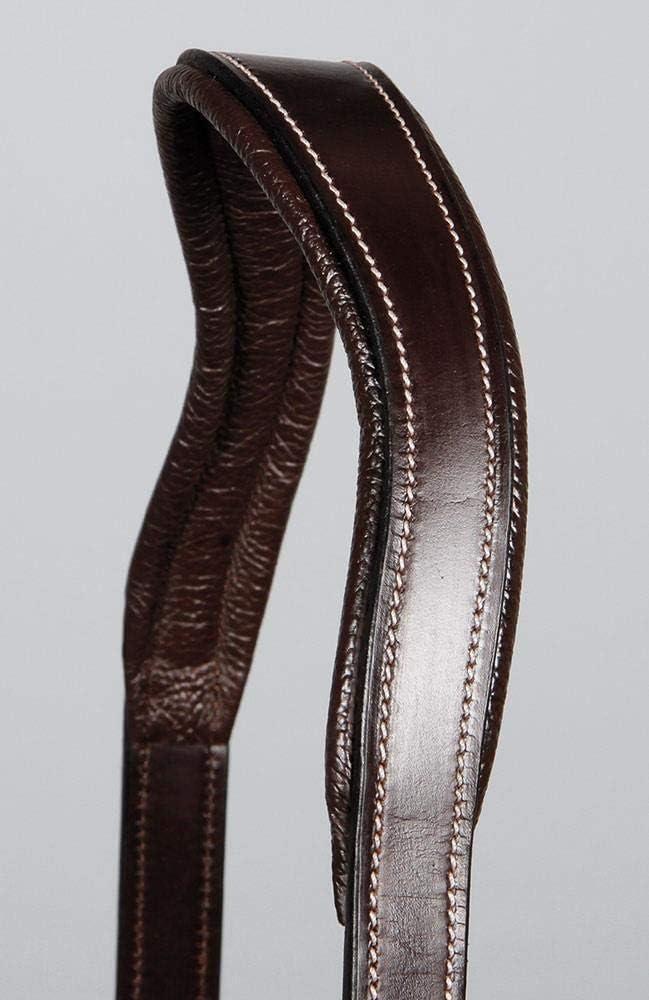 Black Cob Harrys Horse Anatomical Leather Halter Supreme