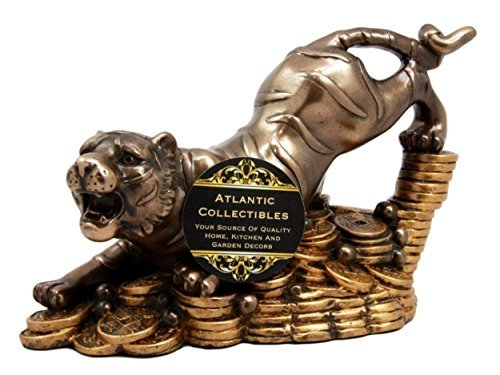 Wests Tigers (Feng Shui White Tiger Of The West Power & Protection Decorative Talisman Figurine)