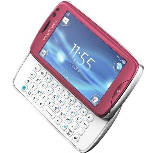 Sony Ericsson TXT Pro CK15i Unlocked GSM Cellular Phone–International Version, no Warranty (Pink)