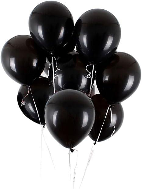 """Or noir ballon anniversaire mariage fête mariée Baby Shower engagés Latex 11/"""""""