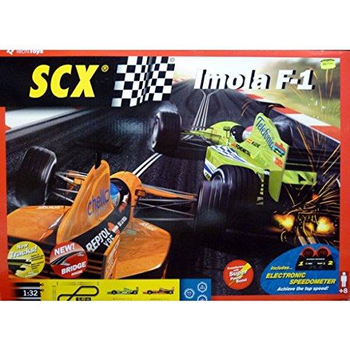 Imola F-1 SCX Slot Car Set