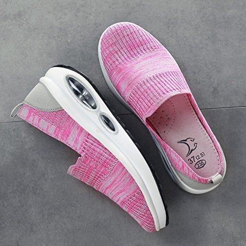Estate Le Maglia Scarpe Scarpe Traspirante Nuove Moda All'aperto Donne Singole Agitano Sneaker Selvaggio Studente 2018 B Pigri Agitando wrqwUg0