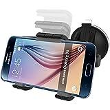 Samsung Galaxy S6 S7 S8 S9 Easy-dock Car Mount Holder [Windshield/Dashboard Cradle]