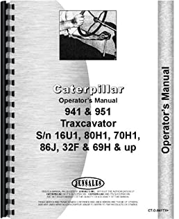 caterpillar 951 traxcavator operators manual sn 86j 16u1 32f rh amazon com caterpillar operators manual 930m pdf caterpillar operators manual 930m pdf