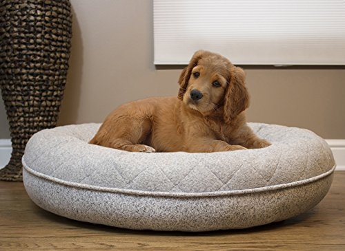 515hhsgHtsL - Arlee 59-01001COC Donut Lounger and Cuddler Pet Bed, Large/X-Large, Cocoa Tan