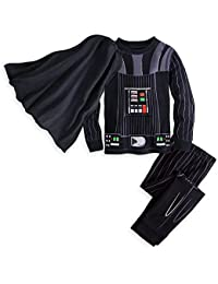 Darth Vader Costume PJ PALS for Boys Black