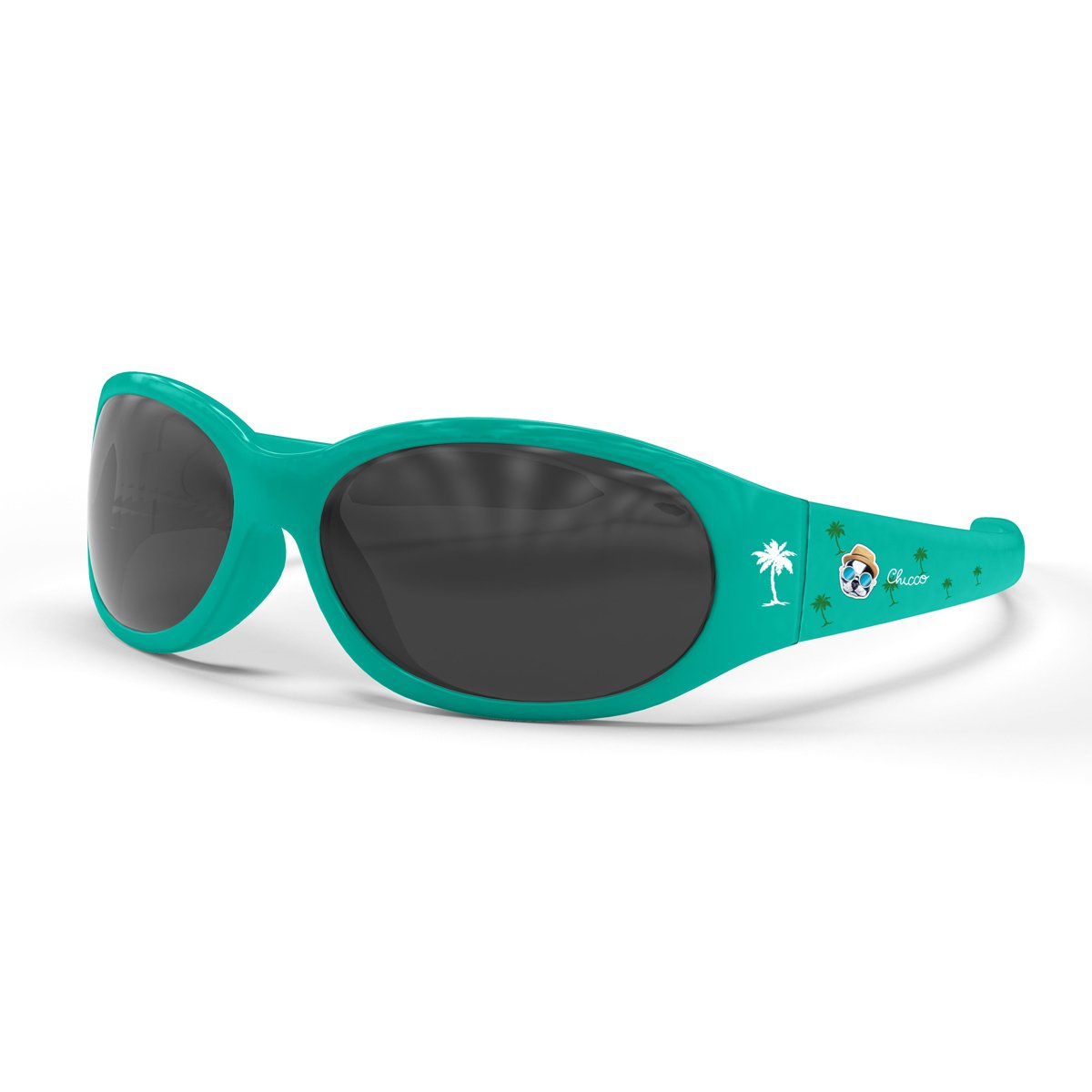 Chicco Cartoon - Gafas de sol 12 m+, color verde