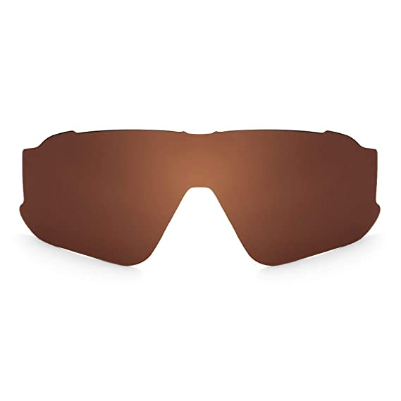 38252e735bc Revant Polarized Replacement Lens for Oakley Jawbreaker Elite Dark Brown   Amazon.co.uk  Clothing