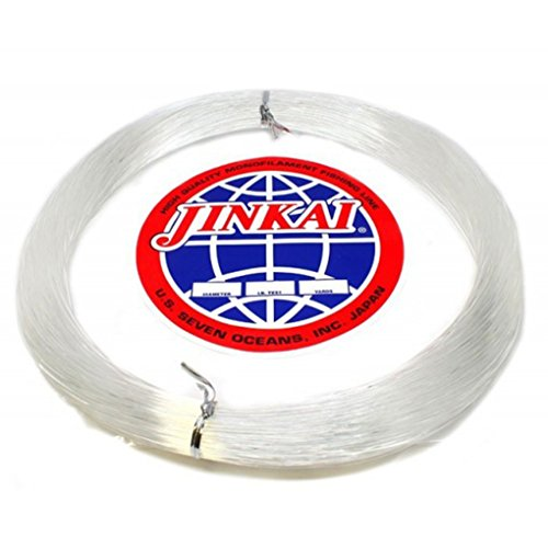Jinkai Premium Monofilement Leader - 100yd Coil - 200lb Test - Crystal Clear ()
