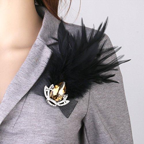 Broche a Plume Femme pour Costume de Partie De Fantaisie