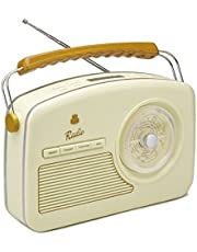 Gpo Rydell 4 Band Retro Dizayn Radyo, Beyaz