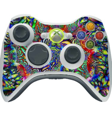 Sticker Decal for Xbox 360 Console Controller Multicolor - 2