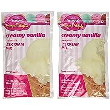 Rival Frozen Delights Creamy Vanilla Ice Cream Mix, 8 Oz (Pack of 6)