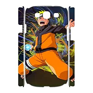 Naruto High Qulity Customized 3D Cell Phone Case for Samsung Galaxy S3 I9300, Naruto Galaxy S3 I9300 3D Cover Case