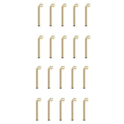 20 stücke Angelrute Führungen Tipps Repair Kit Stange Gebäude Ring 0,8mm